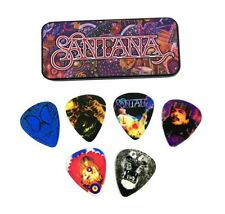 Dunlop  Carlos Santana Collectible Picks and Tin  - includes 6 picks - heavy