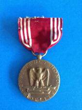 VINTAGE WWII MILITARY  GOOD CONDUCT EFFICIENCY HONOR FIDELITY AWARD  MEDAL  PIN