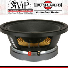 "B&C 10MD26 10-Inch Midbass Speaker 10"" Pro/Car Audio Midbass Free Shipping *NEW*"