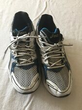 Asics Gel 3020 TO49N Men's Running Shoes Size 8.5 Blue White Black-VGUC