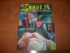 CÓMIC ZORA LA VAMPIRA Nº17 (EDICIONES ZINCO AÑOS 80 BUEN ESTADO)