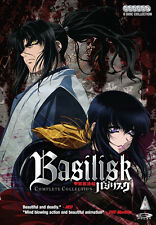 Basilisk . The Complete Series . All 24 Episodes . Anime . 6 DVD . NEU . OVP