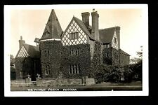Overton near Frodsham - The Vicarage - real photographic postcard