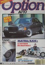 Option Auto magazine 04-05/1987 Issue 16