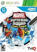 XBOX 360 Marvel Super Hero Squad Comic Combat uDraw Tablet Video Game Art Play