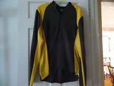 HIND BRAND MEN'S ATHLETIC RUNNING, CYCLING EXERCISE LONG SLEEVEE SHIRT SIZE XL