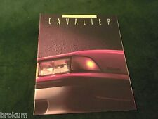"MINT 1988 CHEVROLET CHEVY CAVALIER SALES BROCHURE 32 PAGES 11"" X 9"" NEW (BOX 732"