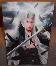 Final Fantasy Sephiroth Glossy Print 11 x 17 In Hard Plastic Sleeve