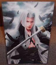 Final Fantasy Sephiroth Glossy Print 11 x 17 In Hard Plastic Sleeve