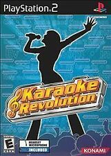 Karaoke Revolution Bundle for Sony Playstation 2 Console (PS2) Video Game