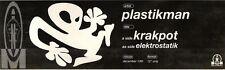 """18/12/93PGN16 PLASTIKMAN : MKRAKPOT ADVERT 3X11"""""""