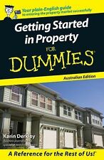 GETTING STARTED IN PROPERTY FOR DUMMIES - NEW PAPERBACK BOOK