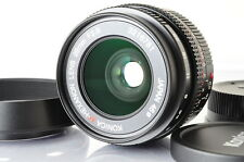[MINT+]Konica M-Hexanon 28mm F/2.8 Lens for Leica M Mount w/Hood From Japan