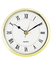 3-1/2'' Quartz Clock Insert with Roman Numerals #452