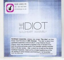 (EF130) Goldheart Assembly, The Idiot - DJ CD