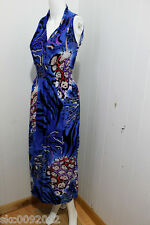 New Exotic Style Women Summer Dress Evening/Party Sundress/Gown-Blue2(Size S/M)