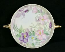 Vintage Rosenthal Selb Bavaria Donatello Hand Painted Iris 7 Inch Round Plate