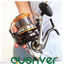 12+1BB Ball Bearing 9000 Mental Fishing Spinning Reel Spool Fresh/Saltwater 4.1