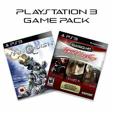 PS3 Game Pack: Devil May Cry 1 2 & 3 And Vanquish