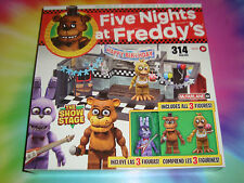 5 NIGHTS AT FREDDY'S - THE STAGE SHOW Construction Set - BONNIE VISIBLE - RARE