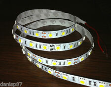 5M LED 5050 SMD (60 Led/m) 12V Blanco frío (Strip Lights Cool white)