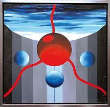 Radek Adam Sliwecki (1975 Łosice/POLEN) Surrealistisch 2000, Öl, 79 x 79 cm