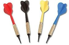 DARTS  - Set of 12 - Black / Blue / Red / Yellow ~~NEW~~ Darts for Dart Board