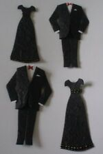 PAIR DINNER EVENING SUIT AND BLACK DRESS DIE CUT EMBELLISHMENTS FOR CARDS/CRAFTS
