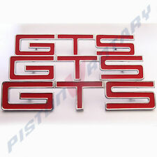 GTS Guards & Boot BADGES x3 RED , NEW , for HOLDEN HK HT HG MONARO fender hood