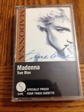 Madonna True Blue Cassette Single. Ultra Rare Only USA Version On eBay!!!