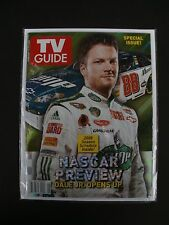 TV GUIDE - Dale Jr. NASCAR Special Issues - Lot of 2 Issues - Feb 2008 - VF/NM