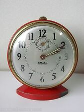ANCIEN REVEIL ROND BAYARD A REPETITION / HORLOGE PENDULE MOUVEMENT OLD CLOCK