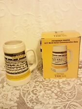 Pittsburgh Pirates 1971 World Series Commemorative Stein Trib/Total Media NIB