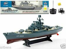 "23"" Ht Radio Control Rc Battle Warship Boat Cruiser Destroyer RC WWII HT-3826"