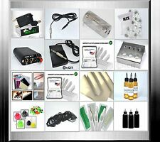 Tattooset  (R1 SKILLK7 Komplettset Rotary Tattoomaschine Tattoo Set  Tattoofarbe