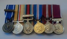 Court Mounted Miniature Medals, IFOR, Iraq, Afghanistan, Jubilee, Army LSGC