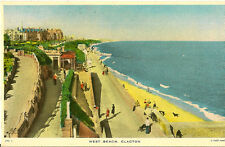CLACTON-ON-SEA( Essex) : West Beach No 4 -TUCK