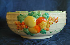 Art Deco -  A.J. Wilkinson Ltd Royal Staffordshire Pottery Fruit Bowl    #101