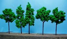 "Multi Scale Use-Model Tree Scenery-3 Pcs 4 3/8""-4 Pcs 3 9/16""-7 Green Trees"