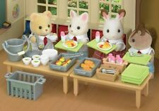 Calico Critters Cc1486 School Lunch Set - New, Sealed