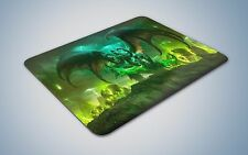 World of Warcraft legion mouse mat gaming pc uk optical laser wow expansion
