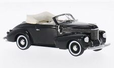 Opel Kapitan Hebmuller Convertible 1940 Black 1:43 Model NEO SCALE MODELS