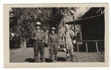 Photo of Fishing Party 2 Men & 1 Woman - Log Cabins, Rods, Waders, etc.