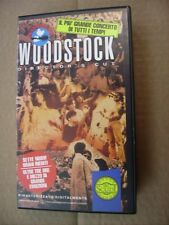 WOODSTOCK DIRECTOR'S CUT - VHS PAL 1994 EXCELLENT CONDITION