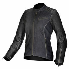 ALPINESTARS Ladies RENEE Leather/Textile Motorcycle Jacket (Black) EU 46/US 10