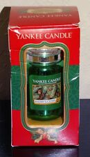 Yankee Candle Balsam & Cedar Old World Christmas Blown Glass Ornament New