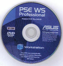ASUS P5E WS PROFESSIONAL Motherboard Drivers Installation Disk M1290