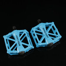 BMX Mountain Bike Platform Pedals Flat Sealed Bearing Bicycle Pedals 9/16 Inch