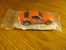 HOT WHEELS CALIFORNIA CUSTOM ORANGE CAMARO Z-28 MCDONALDS SEALED IN A BAG NEW