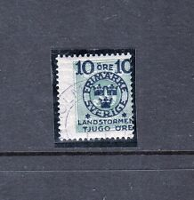 VS100  SWEDEN #B19 STAMP, USED LIGHTLY CANCELLED $15.00 CATALOG